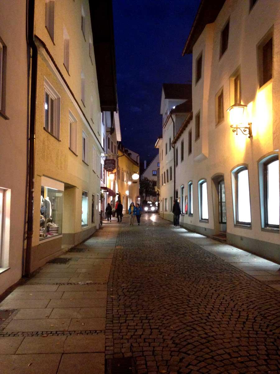 Streets of Füssen