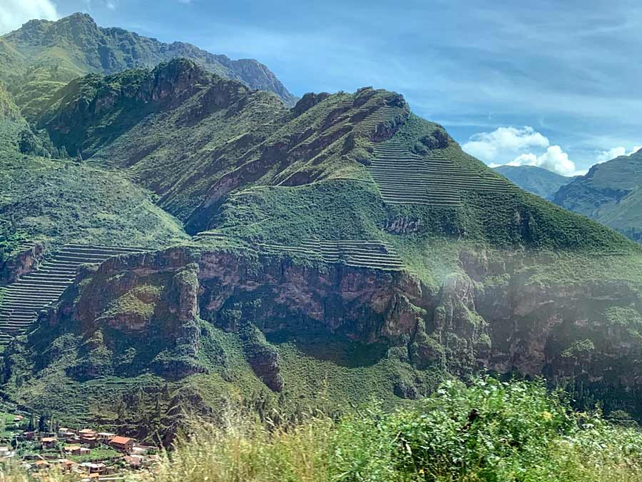 Sacred valley mountains