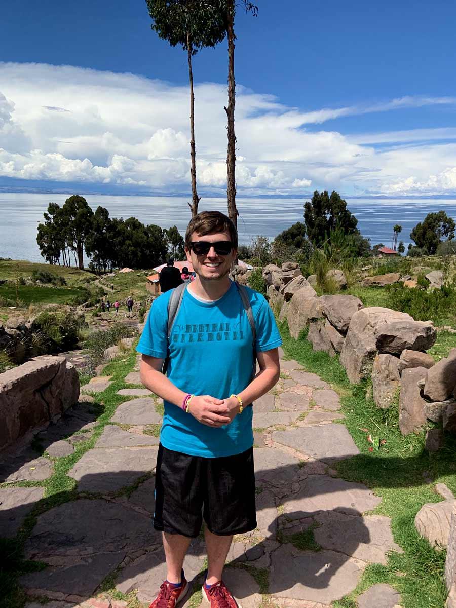 Titikaka island