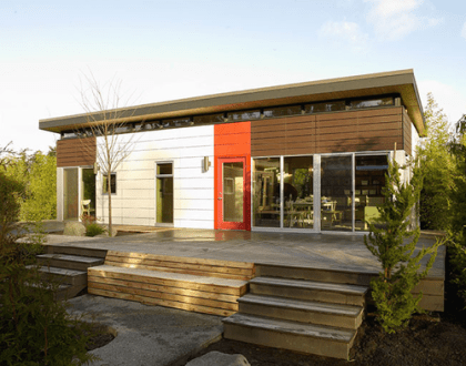 Jetson Green   Port Townsend Modern Dwelling Shed Dwelling shed exterior