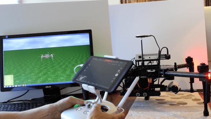 DJI Matrice Software Simulator