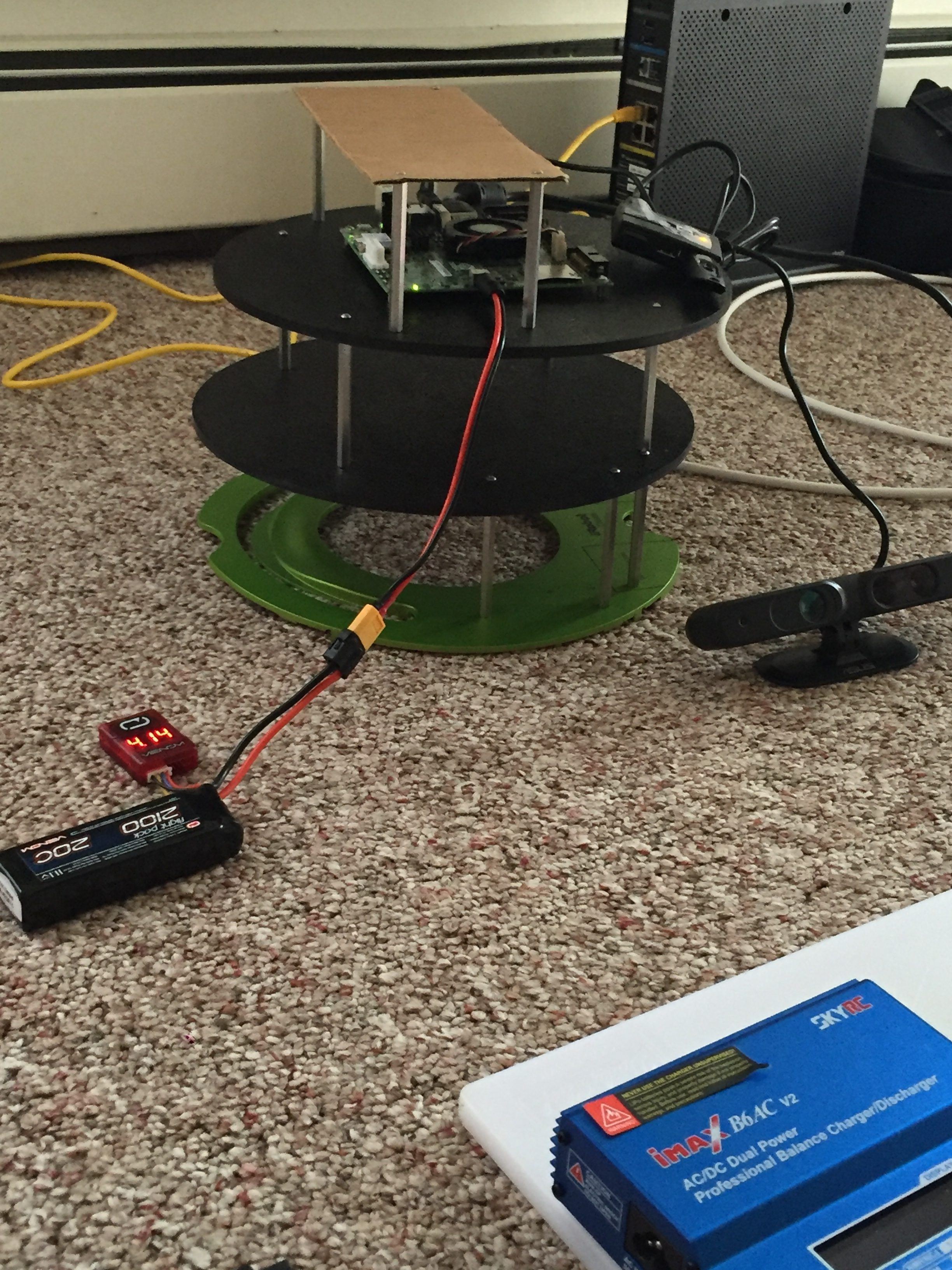 Viraj Padte's JetsonBot - Battery Test