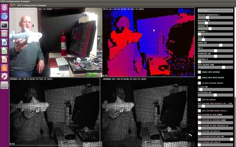 Intel RealSense Camera Installation - NVIDIA Jetson TX2 - JetsonHacks