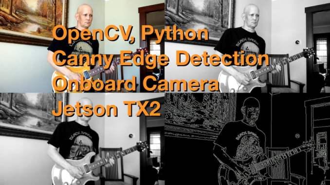 Canny Edge TX2