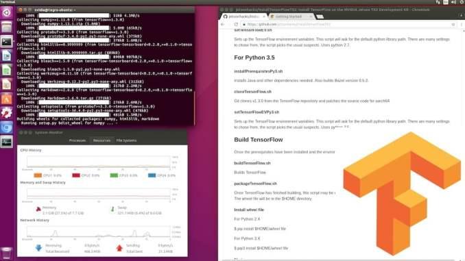 Build TensorFlow on Jetson TX2