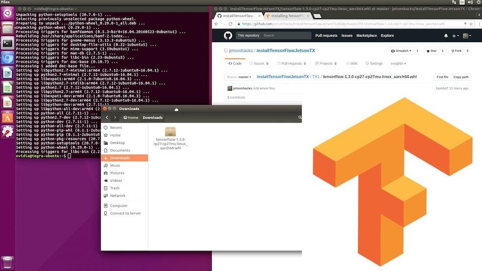 Install TensorFlow for Python - NVIDIA Jetson TX Dev Kits - JetsonHacks