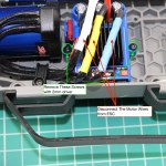 Motor Wires and Attachment Screws