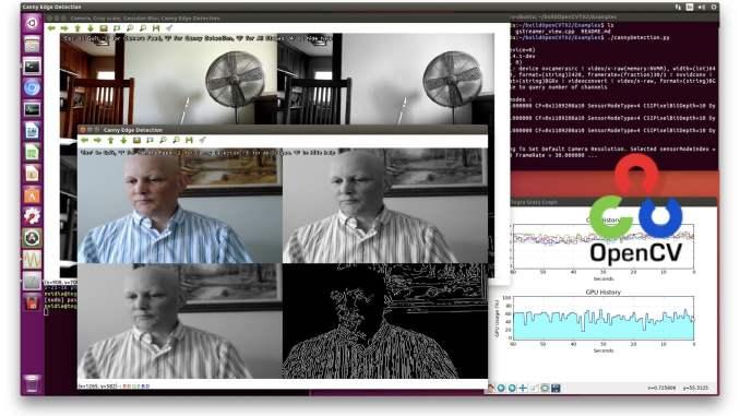 OpenCV with CUDA