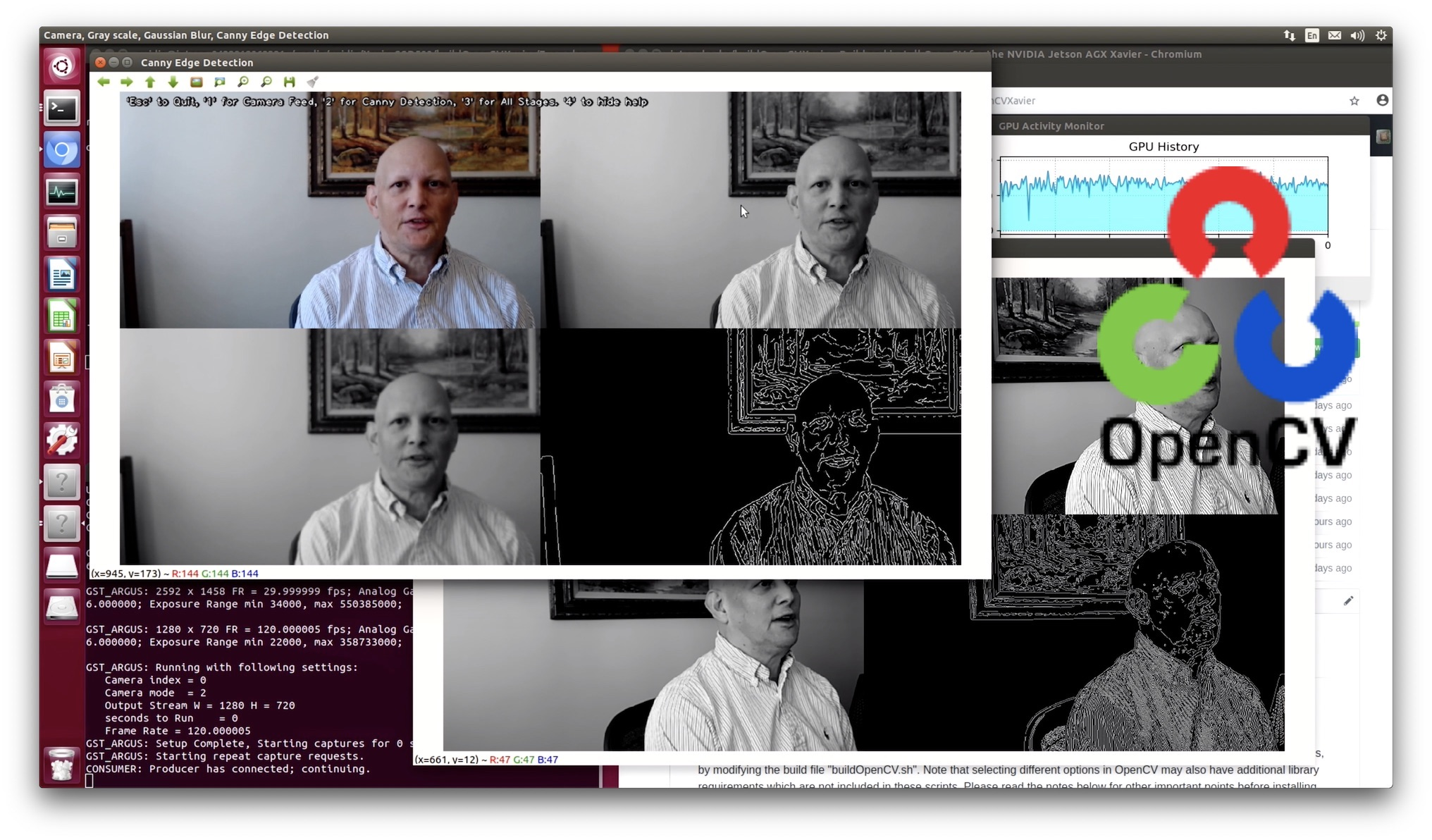 Build OpenCV 3 4 on NVIDIA Jetson AGX Xavier Developer Kit - JetsonHacks