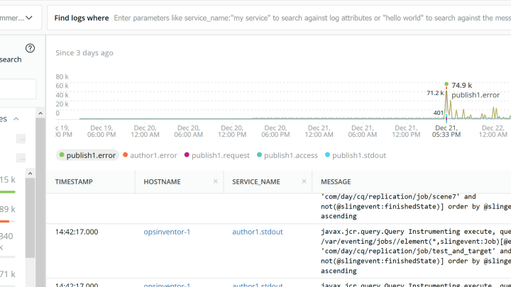 Consuming AEM Logs into New Relic with FluentD