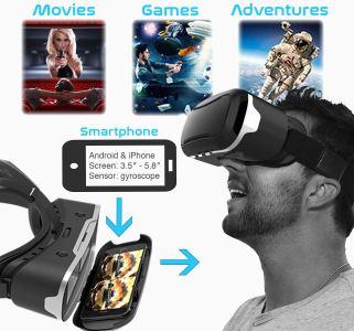 Die kompatibele VR-Brille