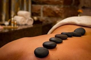 Die Rückenmassage