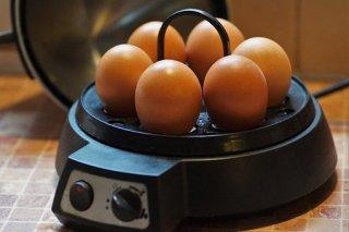 Der Eierkocher für 6 Eier