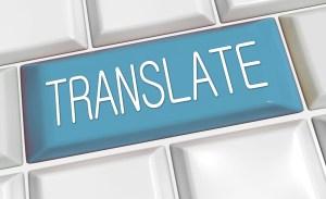 Die online Übersetzung