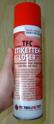 TFC Etikettenlöser Testbild 1