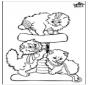 Luchs Malvorlagen Katzenartigen
