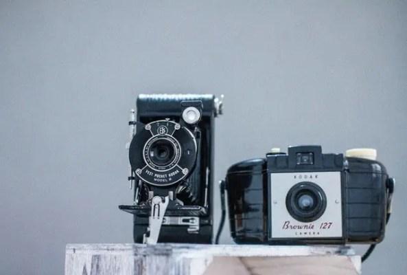 cámaras de diferentes marcas