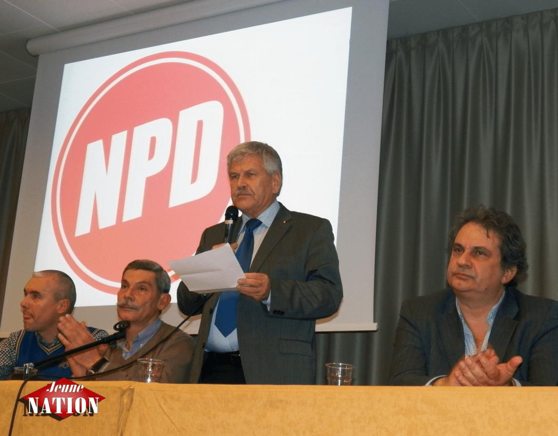 Le député européen Udo Voigt.
