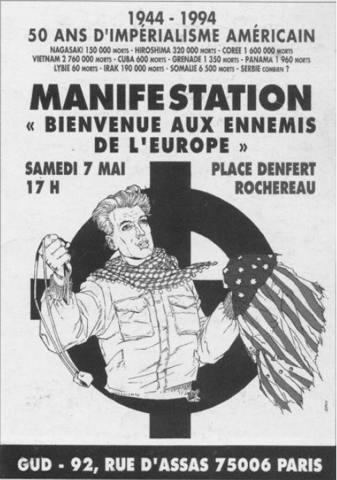 Risultati immagini per 7 mai 1994 paris gud