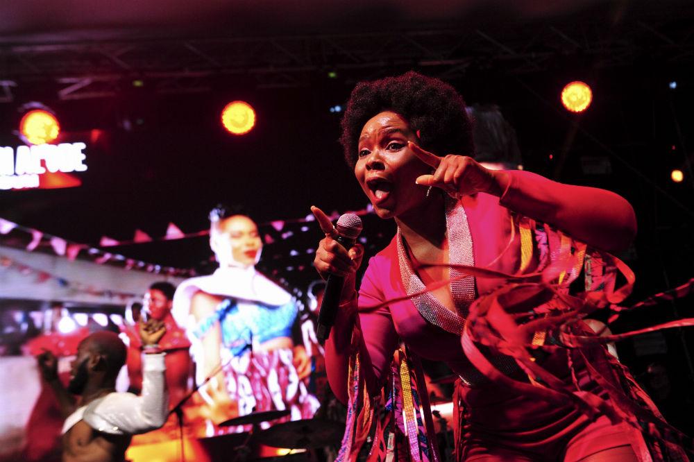 tapis rouge pour la musique africaine