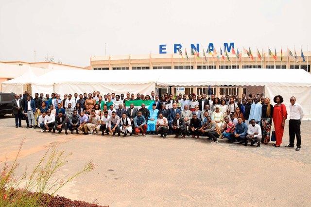 Juillet 2019, fin de formation d'étudiants de Guinée Équatoriale à l'ERNAM (École Régionale de la navigation Aérienne et de Management)