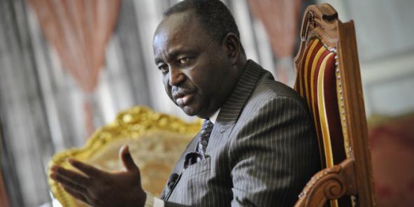 François Bozizé devrait être désigné candidat à la présidentielle de décembre 2020 par son parti au cours du congrès qui s'ouvre ce 24 juillet 2020 à Bangui. Ici en 2012, au Palais présidentiel.