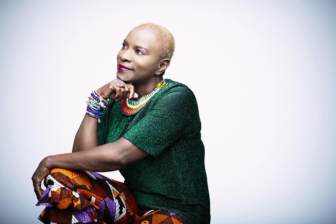 La chanteuse béninoise Angélique Kidjo