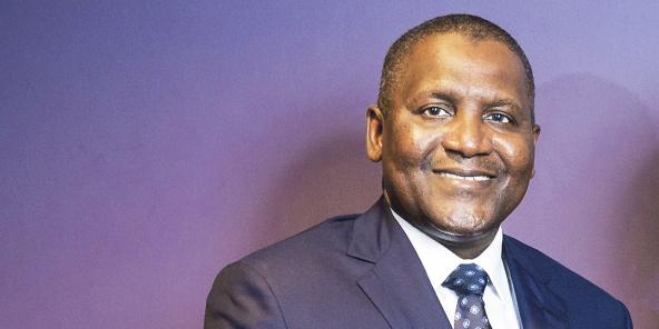 Aloki Dangote et Alassane Ouattara