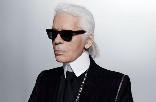 magasiner pour les plus récents emballage élégant et robuste dernière vente Pourquoi Karl Lagerfeld porte tout le temps des lunettes de ...