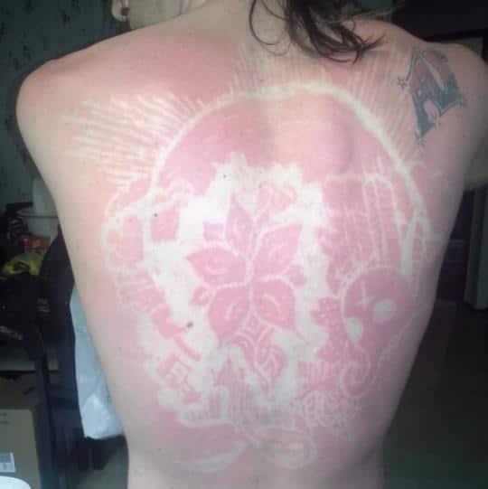 sunburn art femme