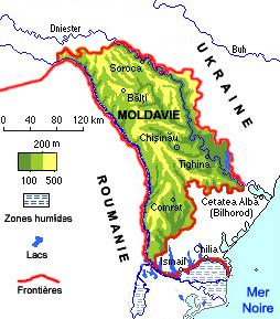 Fiche 1 carte Moldavie