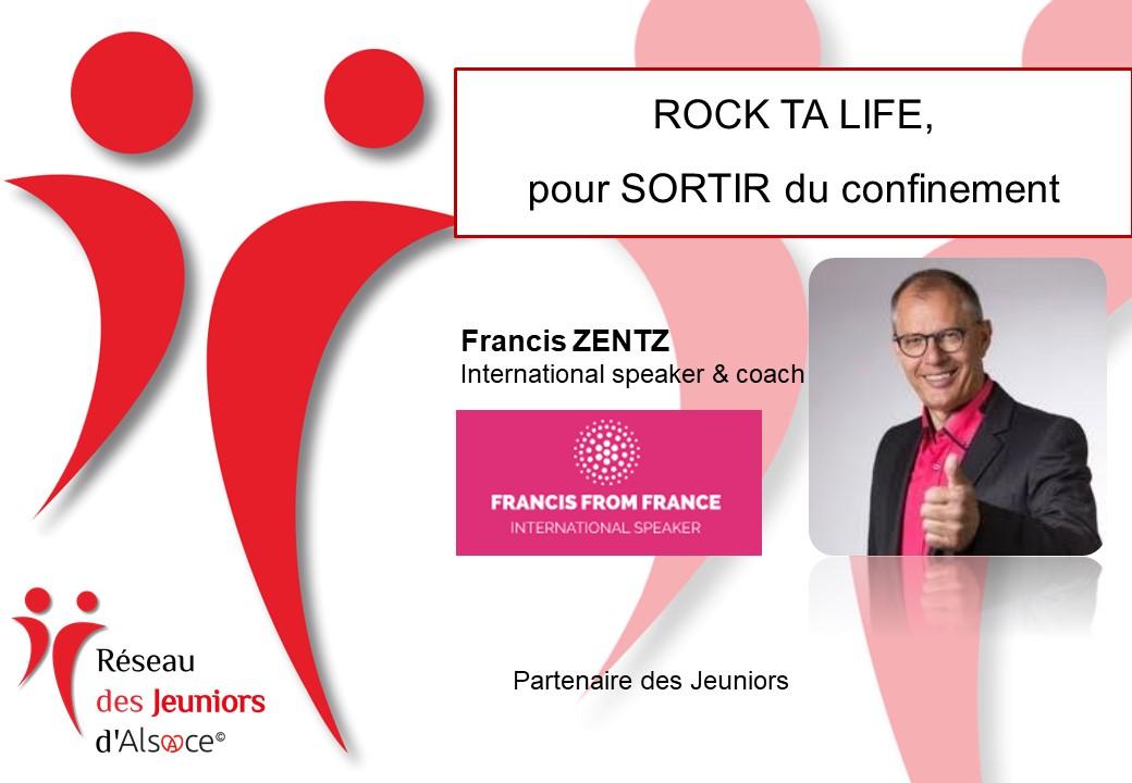 Francis Zentz Rock ta life