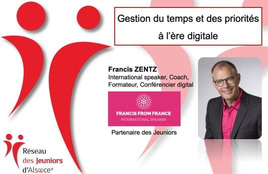 Francis Zentz, Jeuniors d'Alsace, Rencontre-Café