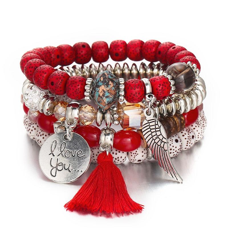 Angel Wings Boho Bracelets