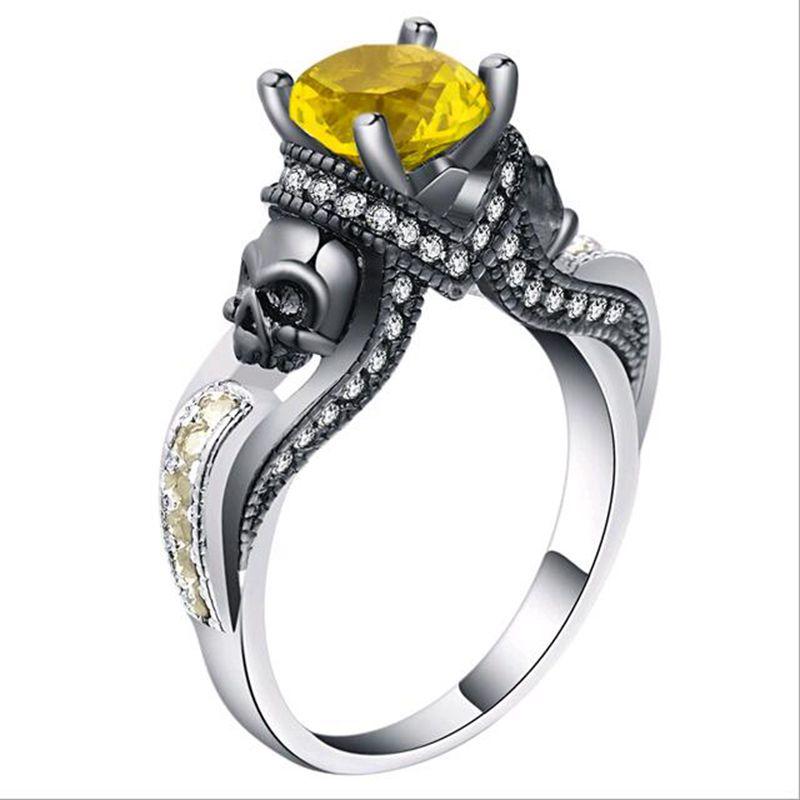 Gothic Skull Rings For Women