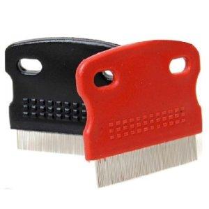 Brosse en acier Zeuxs Liroyal pour animal domestique, chat, chien, couleur aléatoire