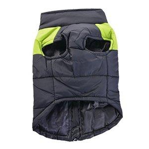 Rainbabe pour animal domestique Chiot chaud de ski Vêtements Doggie Gilet de manteau pour animal domestique Waterpoof? Gilet de ski