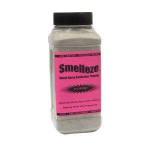 SMELLEZE Eco Spray Skunk Odeur Eliminator: 50 Lb. Poudre devient faute puanteur Out