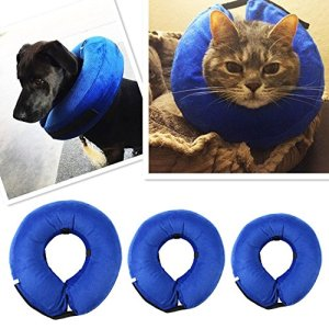 Collier Gonflable De Rétablissement d'Animal Familier,collerette gonflable Protecteur Doux Pour Chien, Chats