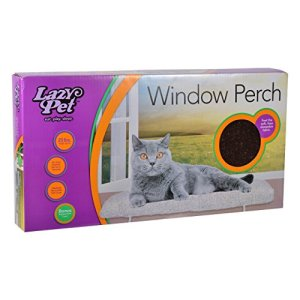 Lazy pour animal domestique Chat Deluxe Window Perchoir Couleurs assorties