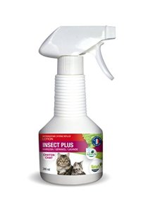 Naturlys lotion insect plus chat et chaton 240 ml