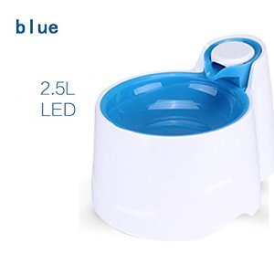 shanzhizui Fontaine à boire automatique Appareil à boire Buveur de chien Distributeur d'eau Cat Circulation automatique Teddy, blue