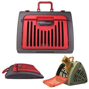 De Transport Pour Animal domestique–ANG® pliable portable léger et robuste Transport Voyage Chat Petit Chien de transport pour animaux de transport
