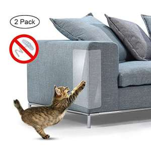 Kobwa pour animal domestique Protège Canapé pour Animal Domestique Rayures boucliers discret Cat Scratch meubles Coque de protection 2pièces pour la protection de l'ameublement, les murs, les Matelas, siège auto, porte 47x 15,2cm