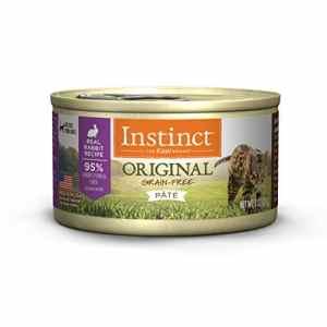 Instinct: Recette sans céréales, pâtée en Conserve pour Chat, Naturel, par Nature's Variety