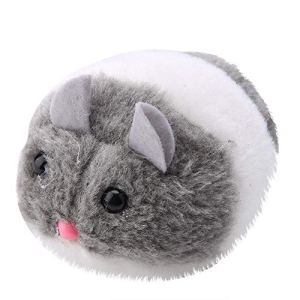Fdit Jouet pour Chat en Forme de Rat Artificiel en Forme de Rat