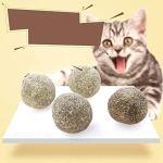 Comomingo Cat's Cat's Cat Nettoyage des Dents Ball's Cat's Snacks Bâtons Lollipop Menthe Naturelle