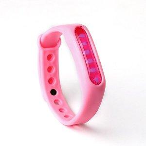 XINGKEJI Bracelet Anti-moustiques d'été-Bracelet en Silicone de Protection de l'environnement Bande Anti-Moustique Efficace pour Les Enfants