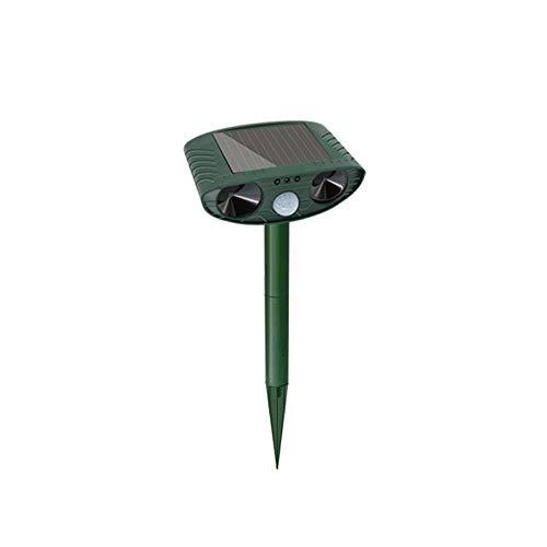 YoLiy Puissance Ultrasonique Animaux Repeller Animaux de contrôle des Animaux d'énergie Solaire à ultrasons Répulsif for Rat, Vole, Chat, Chien, Rongeur, etc. Garden Farm
