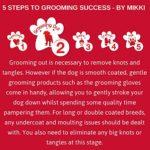 Mikki Peigne à Excrétion pour Chien